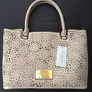 Marc New York🔥Andrew Marc Perforated Front Tote